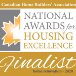 CHBA National Awards for Housing Excellence - Finalist 2020
